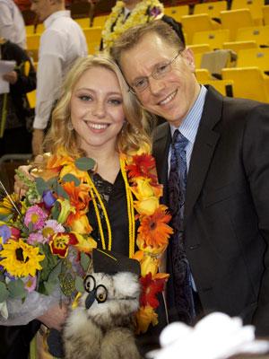 Kenneth and Daughter Sydney Gorton